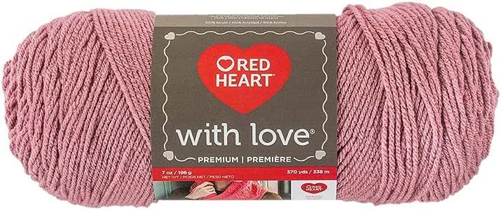 Red Heart With Love Yarn-Cameo