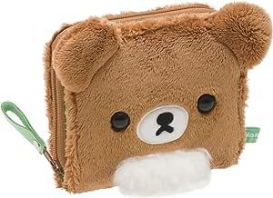 San-X 轻松熊 布偶钱包 茶色小熊