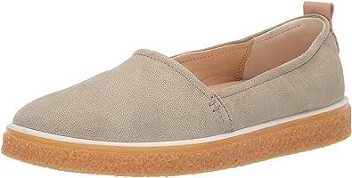 ECCO 女士 Crepetray 一脚蹬乐福平底鞋