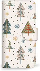 mitas 智能手机壳 手册式 圣诞 冬季 树SC-0331-C/SH-03G 4_AQUOS ZETA (SH-03G) C