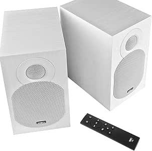 TIBO Plus 3.1   高保真主动蓝牙音箱带遥控器   RCA/光纤输入   2 x 55W   白色