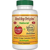 Healthy Origins - Lyc-O-Mato蕃茄番茄红素复合体加上Seleno擅长硒 - 60软胶囊