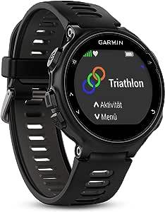 Garmin Forerunner 735XT GPS 多功能运动和跑步手表,带心率监测器010-01614-06 黑色/灰色 One Size 黑色/灰色