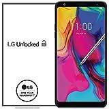 LG Stylo 5 工厂解锁手机 - 6.2 英寸屏幕 - 32GB - 黑色(美国保修)