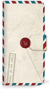 Mitas 智能手机壳 手册式 手纸 信封 邮票MIR-0231-A/907SH  4_AQUOS sense3 basic (907SH) A