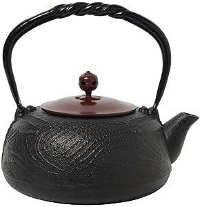 南部铁器宝生堂铁瓶 (铁盖) 黑1.2l 700100