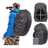 Joy Walker 防水背包防雨罩(15-90升),*(防滑)带扣和增强层,适用于徒步野营旅行骑行