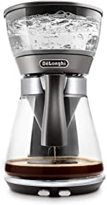 De'Longhi 德龙 克莱西德拉 ICM 17210 过滤咖啡机 盘直接选择键 用于制作ECBC 标准和冲泡工艺,精确恒温 *佳水温度 (92-96°C)