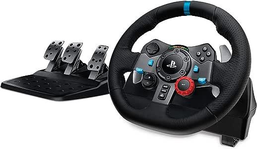 Logitech 罗技G29 Driving Force 方向盘(适用于PS4,PS3和PC)