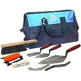 MARSHALLTOWN Premier Line BTK2 砖层学徒工具套件,带 20 英寸尼龙工具袋