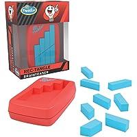 ThinkFun Pocket Brainteasers - 矩形拼图游戏和 STEM 玩具,适合 8 岁及以上男孩和女孩