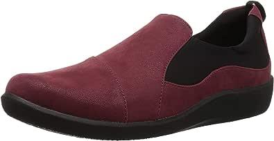 Clarks 女士 CloudSteppers Sillian Paz 一脚蹬 乐福鞋