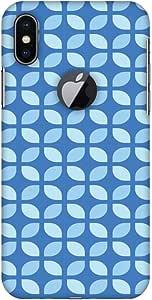 AMZER 手工制作设计师印花薄扣硬质手机壳带屏幕清洁套件 适用于 iPhone X - 几何花 1AMZ601040267194 Geometric Flowers 3 Geometric Flowers 3