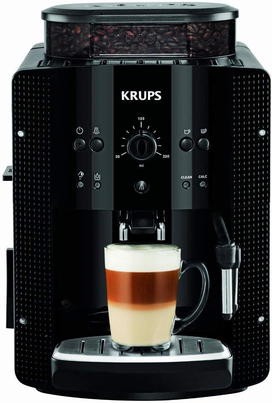 无需变压器,磨豆打泡一条龙:Krups克鲁伯 全自动咖啡机 EA8108黑色 Prime直邮到手1750元 买手党-买手聚集的地方