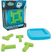 ThinkFun Pocket Brainteasers - 4-T 拼图游戏和 STEM 玩具,适合 8 岁及以上男孩和女孩