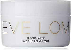 EVE LOM 紧急救援面膜| 每周深层清洁,可舒缓浮肿的面部和双眼| 帮助修复斑点,突围,时差,发红,刺激性皮肤,樟脑,杏仁和蜂蜜注入的高岭土,3.3盎司(约93.55克)