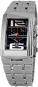 Chronotech 男式模拟石英手表不锈钢表带 CT7018M-04M
