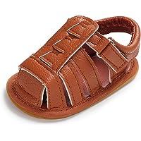 BENHERO 男婴女婴优质软橡胶鞋底防滑夏季学步儿童凉鞋