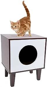 PAWZ Road 猫屋带刮板家庭风格多功能椅创意现代方形猫屋