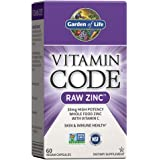 Garden of Life 生命花园 Vitamin Code维生素锌 - 未加工的锌,整体食物补充,加入维生素C,素…