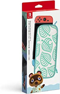 Nintendo 任天堂 Switch Lite携带盒 红豆 动物森林 ~ 香波图案 ~ 2) Switch用