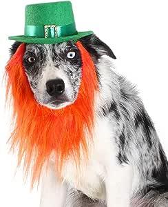 FOMATE *帽子圣帕特里克节服装 狗