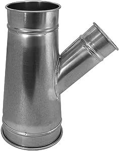 Nordfab 管道设备 3220-1609-216005 QF 分支 45 度 16-9-16,16 英寸直径,SS 304
