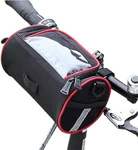 TRADERPLUS 自行车篮自行车车把包带肩带,适用于酷路斯山地公路 MTB 自行车