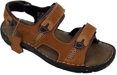 LABO 男士真皮凉鞋 超舒适柔软
