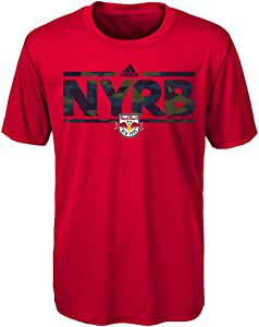 MLS New York Red Bulls Boys -Climalite 短袖 Dassler 战术 Alt 颜色,S 码 (8)