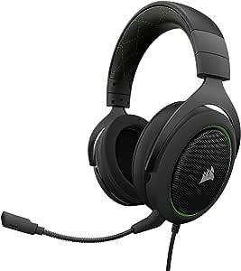 CORSAIR 50–立体声游戏耳机–DISCORD 认证入耳式 绿色
