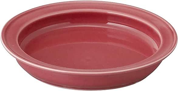 烹饪 PLUS 通用餐具 深层餐盘 粉色 19cm CP102-321