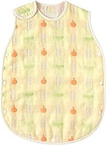日本Hoppetta 宝宝6层透气纱布 四季通用空调被 奶油黄