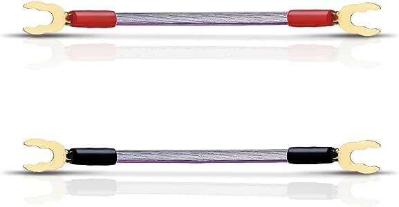 OEHLBACH JUMP! 扬声器电缆桥套件 4x10cm,6mm2。 颜色:透明,红色和黑色。 星级评分:4。