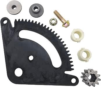 Spartshome 转向扇小齿轮改装套件替换件 适用于 GX20052BLE、GX20053、GX20054、GX21994 适用于 John Deere L 系列草坪拖拉机
