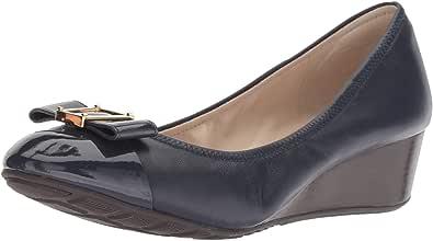 Cole Haan Women's Emory 女士蝴蝶结坡跟鞋