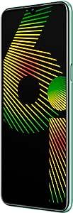 realme 6i 双卡智能手机 6.5英寸(约16.51cm) HD+显示屏,4GB RAM + 128GB ROM四核,绿茶色