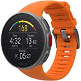 Polar 博能 Vantage V 优质 GPS HRM运动手表,中性,超长电池寿命,适合各种运动和铁人三项运动,训练心率监测,防水