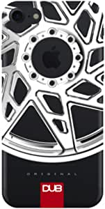DUB iPhone 7 Plus 手机壳EDUBCA7P8 Silver Wheel