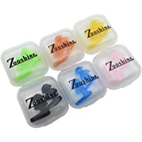 Zooshine 6 套儿童游泳耳塞耳罩,儿童包装盒包装