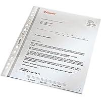 Esselte Leitz 文件保护套 标准 A4 PP材质 压纹 可保护文件 无色