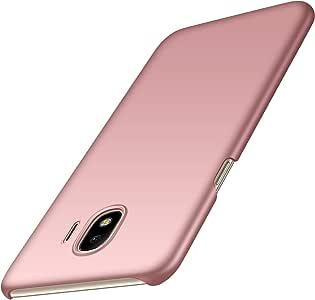 Galaxy J4 2018手机壳,Almiao【超薄】极简超薄保护壳后盖三星 Galaxy J4 2018 Smooth Pink
