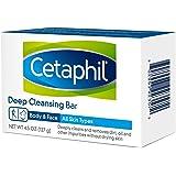 Cetaphil 深层洁面乳和身体乳,适用于各种肤质 Pack of 6 Bars