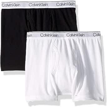 CALVIN KLEIN 男童 纯棉组合内裤 两件装