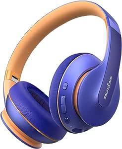 Anker Soundcore Life Q10 无线蓝牙耳机 头戴式可折叠 高分辨率认证音效 60小时播放时间 快速 USB-C 充电 深沉低音 适合旅行、在线课堂、家庭办公室A3032032  中