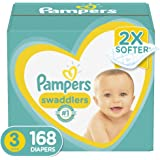 Pampers 帮宝适 尿布 新品一个月供应 Size 3 (168 Count)