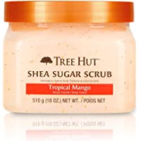 Tree Hut Shea Sugar Scrub Tropical Mango, 18oz, Ultra Hydrat…