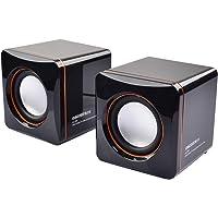 EARISE 雅兰仕AL-202 2.0声道 线控 笔记本音箱 (黑色)