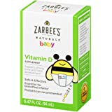Zarbee's Naturals 包包益生菌补充剂 Vitamin D 400 IU 0.47