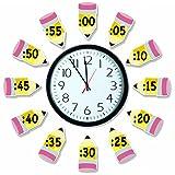 Eureka Telling Time 公告板套装 练习基本时间理念
